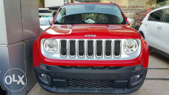 Jeep RENEGADE LIMITED . على الزيرووووو