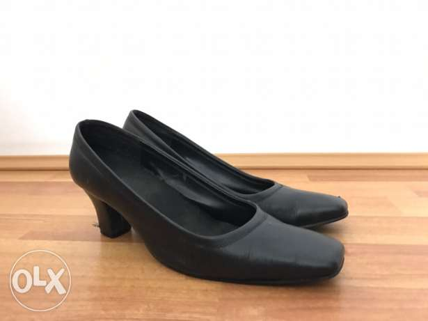 Elegant Women Black Shoes-حذاء أسود
