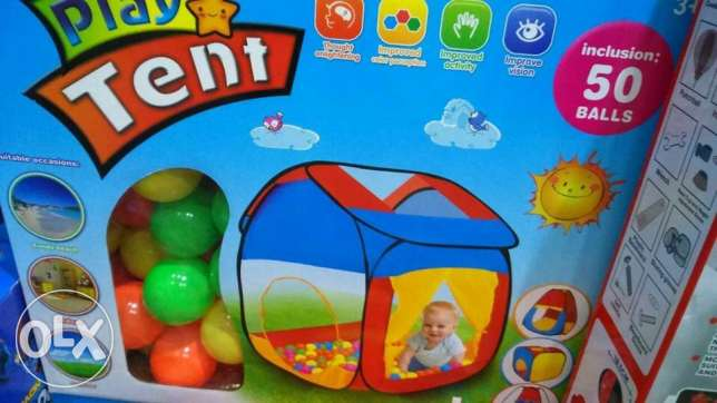 toy tent wiz 50 balls with it