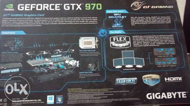 Viga Card Nividia Gtx 970 4GB الزقازيق -  2
