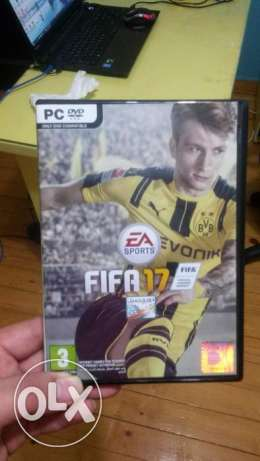 Fifa 17 pc original dvd القاهرة -  2