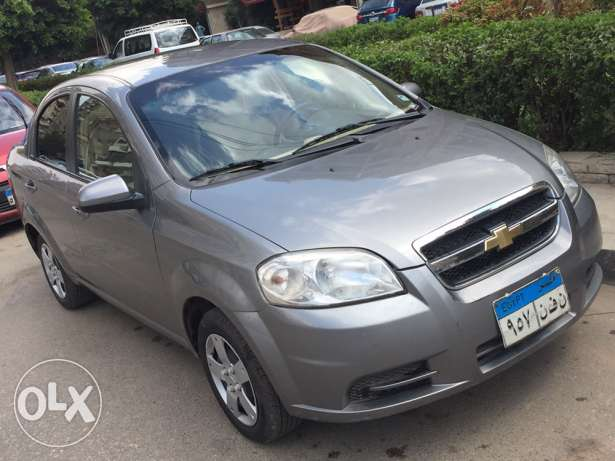 Chevrolet Aveo Grey , Full Option 2014