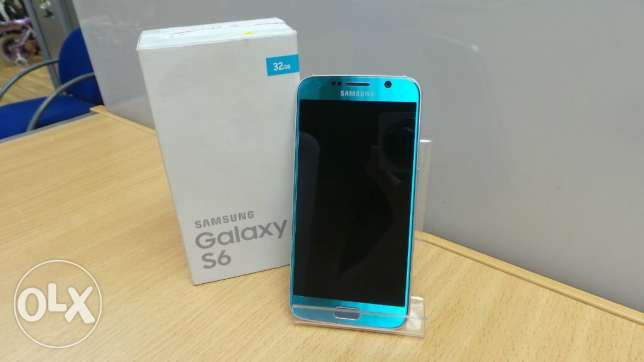 Galaxy S6 Flat Topaz Blue المهندسين -  1