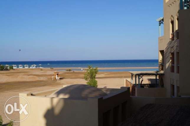 Sea view apartment in New Marina, El Gouna الغردقة -  2