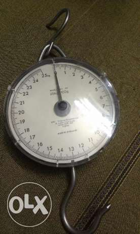 scale 25kg England ميزان