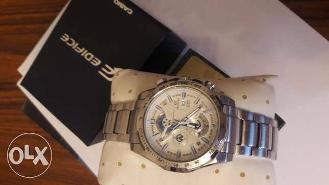 ساعه edifice casio original ضد الماء