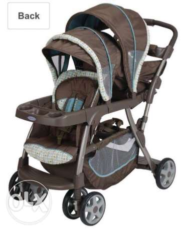 Graco quick connect double stroller (Twin -Stroller)