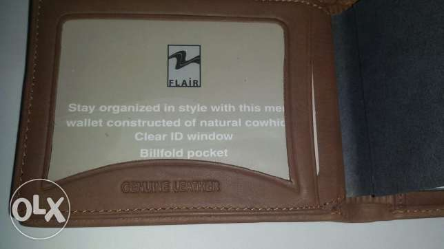 Wallet genuine leather العبور -  2