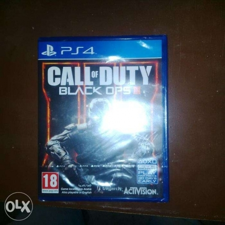 Call of Duty Black OPS 3 for (PS4 CD)