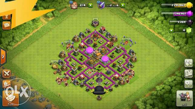 Clash of clans 7max
