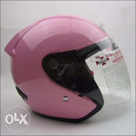 Pink Helmet Ls2 Quarter for Scooter motorcycle Custom Girly خوذة بنات