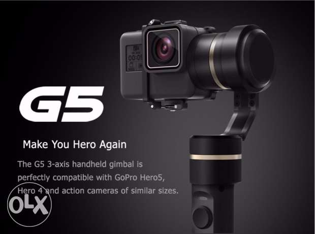 Feiyu FY G5 3-axis handheld gimbal stabilizer for GoPro Hero 5 , 4