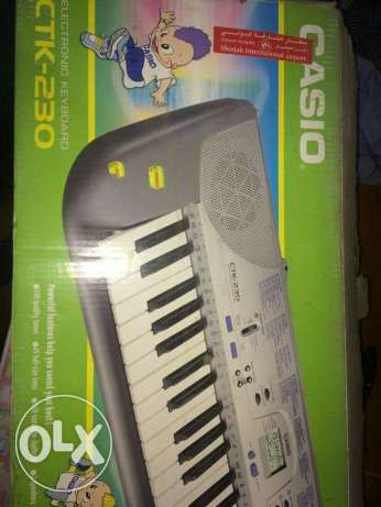 Casio electronic keyboard CTK-230 brought from UAE