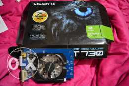 GIGABYTE GT 730 2G DDR5 used for 1 month with 3 years warranty