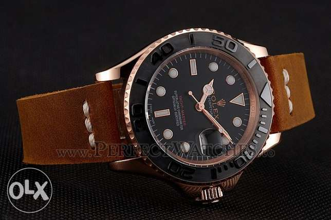 Rolex Leather Yacht-Master