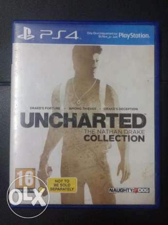 Uncharted collection ps4 for sale