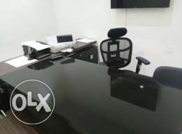 office furniture used in an excellent condition