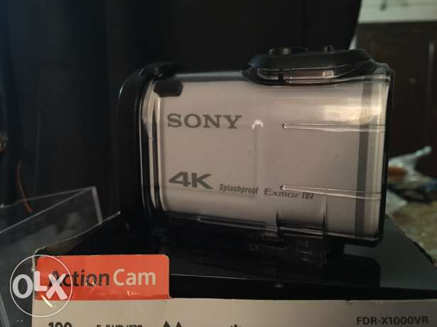 WOW Sony action cam 4K used like new