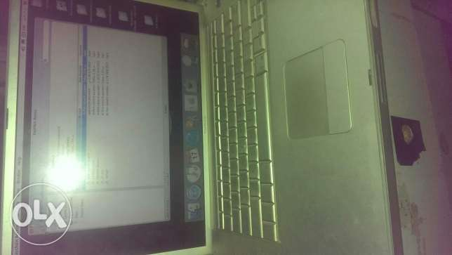 Lap apple powerbook g.4 c2dنث المعادي -  1
