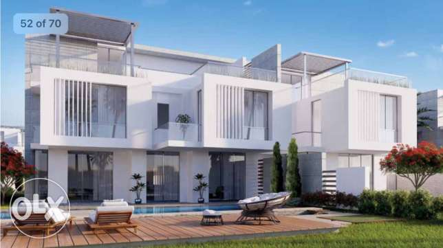 twin house for sale 8 years installment plane 6 أكتوبر -  1