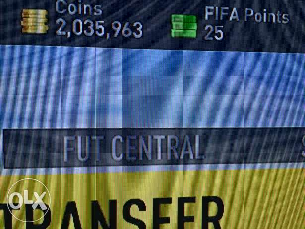 Fifa 17 coins ultimate team PS4