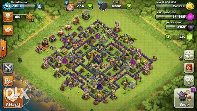 clash of clans الزيتون -  2