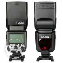 Godox tt685 flash for canon جودكس للكانون
