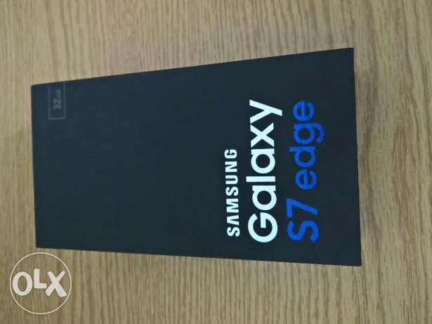 Samsung Galaxy S7 edge Dual Sim Black (Brand New, Sealed)