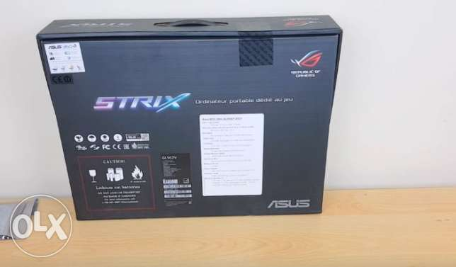 "ASUS ROG Strix GL502VM 15.6"" G-SYNC VR Ready Gaming Laptop 1060M GTX التجمع الخامس -  4"