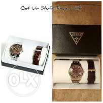 guess set watch for men