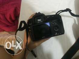 Sony a200 professional camera and lens