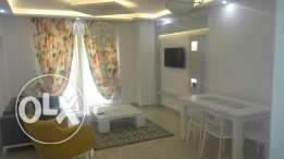 Furnished apartment ground floor for 7000 l.e