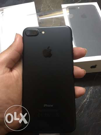 iPhone 7 plus 128 giga black
