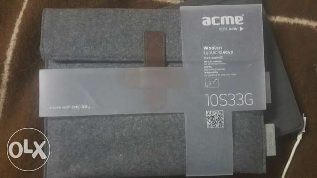 ACME woolen sleeve for iPad