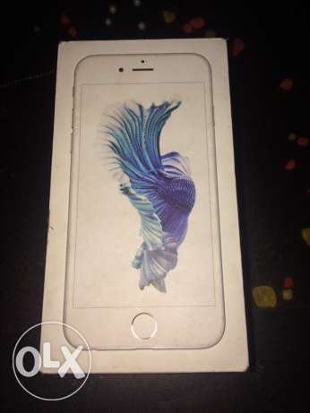 iphone 6s 16g silver with box