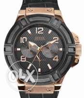 Guess Black Face Watch