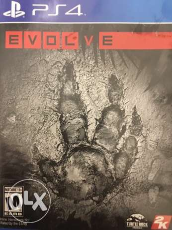 Evolve Game for PS 4