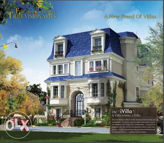 IvillaA Garden Middle 277m at Mountain View Executive التجمع الخامس -  4