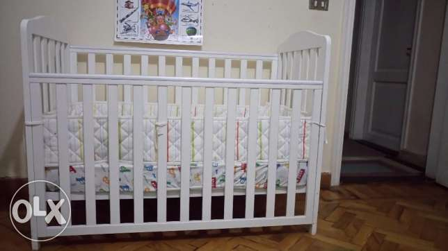 Baby cot bed, Mothercare.