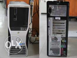 pc.dell workstation سنجل برسيسور/ cash12m ram16g 6core hdd320