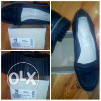 Leather Black shoes (Offer)