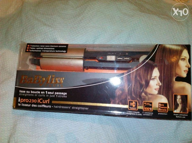 Babyliss Paris new 750 le in box