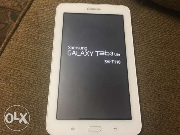 Samsung Galaxy Tab 3 Lite SM-T110 + Cover + Screen Protector