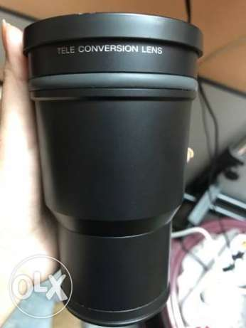 sony lens VCL-DH1757 + cover
