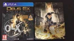 Deus Ex Mankind Divided STEEL BOX Edition