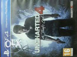 Uncharted 4 for sale or ttade with gta v