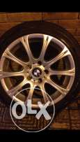 17 M Rims Made In Italy M Orginal With Tyres