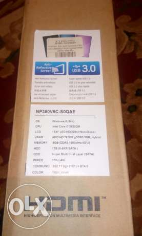 Sumsung notebook core i7 used