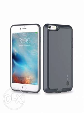 ROCK 2000mAh External Battery Charger Case With Magnet For IPhone 6,6S
