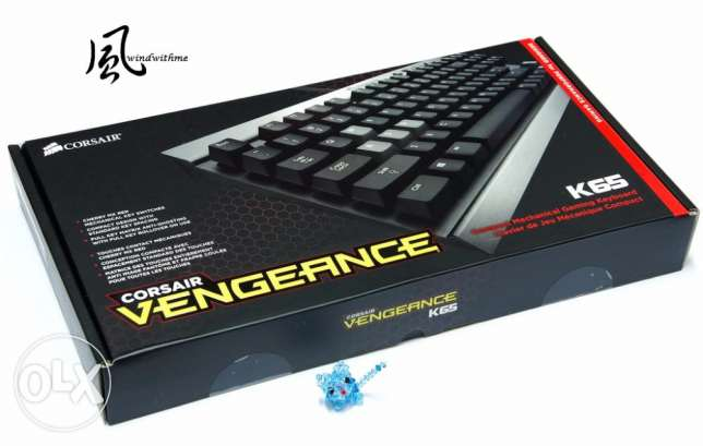 Corsair Vengeance K65 Compact Mechanical Gaming Keyboard *New Sealed* القاهرة - أخرى -  1